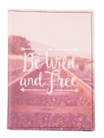 Sass & Belle - Be wild and free - Passport holder